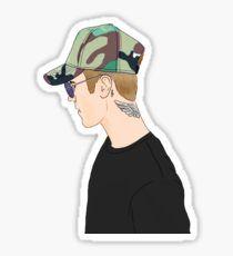 Justin Profile Drawing Pegatina Justin Bieber Sketch, Justin Bieber Posters, Justin Bieber Images, All About Justin Bieber, Justin Bieber Wallpaper, Profile Drawing, Printable Stickers, Cute Stickers, Phone Stickers