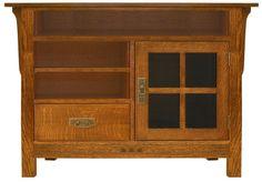SMW-4660 TV Console , San Marino TV Consoles, Tree Crowns Furniture, Mission Furniture