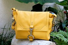Lucy bag in Sunflower by MadelineChadwick on Etsy, $175.00