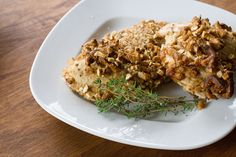 Pretzel Crusted Chicken Breasts - pretzel recipes curated by SavingStar Grocery Coupons. Save money on your groceries at SavingStar.com