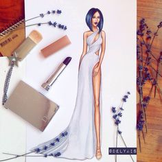 Fashion illustration Seraya