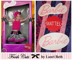 Barbie Inspired Box Life Size Photo Booth by FreshCutsbyLauriBeth, $7.50  .... Guess I know what I am doing for Felicity's birthday this year :)
