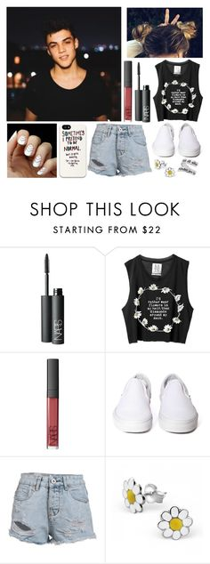 """""""I Love Grayson❤️"""" by freedom2095 ❤ liked on Polyvore featuring Dolan, NARS Cosmetics, Vans, Lisa Angel and Natures Jewelry"""