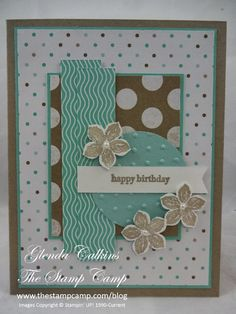 Hi, happy birthday to us. Try Stampin' is 3 years old this week. I never expected that we would last this long when I first started but I ...