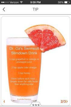 Dr Oz Detox Drink