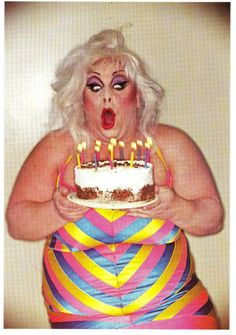 Happy birthday drag queen