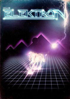 Retro Futurism poster art