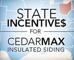 Insulated Vinyl Siding | CedarMAX | Heartland Siding by ProVia