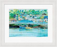 Jeremy Thompson Fine Art Framed Prints Cornwall Padstow Fishing Boats