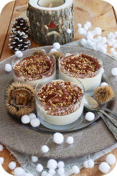 Mousses à la crème de marrons (1)