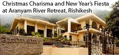 Christmas Charisma and New Year's Fiesta - Rishikesh | Buy tickets on Kyazoonga   Venue: Aranyam River Retreat, Mohanchatti, Rishikesh Dates: Thu, Dec 24, 2015, 11:00  Buy tickets for Christmas Charisma and New Year's Fiesta at Aranyam River Retreat, Rishikesh online on Kyazoonga! http://www.kyazoonga.com/Events/Christmas-Charisma-and-New-Year%E2%80%99s-Fiesta-at-Aranyam-River-Retreat,-Rishikesh/1412
