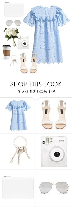 """""""Untitled #2395"""" by domeenica ❤ liked on Polyvore featuring Forever New, Givenchy, Maison Margiela, Sunny Rebel and National Tree Company"""