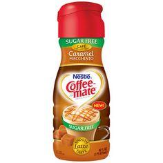 Nestle Coffee-Mate Sugar Free Caramel Macchiato Coffee Creamer, 16 fl oz
