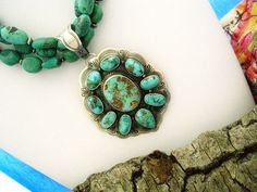 bing images of turquoise gemstone | Indian Necklace in Natural Turquoise