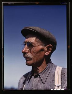 Gus Worke, CN 1942; from the Library of Congress FSA/OWI collection