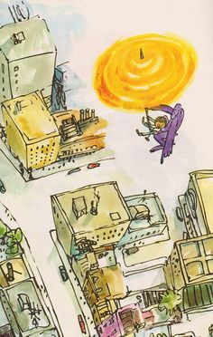 Monster Goes to the Zoo - illustrated by Quentin Blake