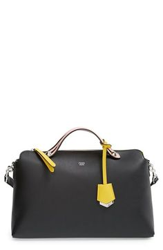 4256ca6ed4c3 Fendi 'Large By the Way' Leather Shoulder Bag available at #Nordstrom  Leather Bag
