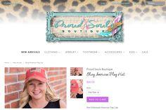 Proud Souls Boutique Portfolio Logo, Shots, Crochet Hats, Boutique, Clothes For Women, American, Kids, Fashion, Knitting Hats