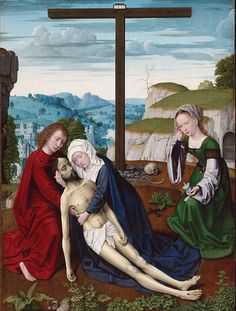 File:Gerard David, Netherlandish (active Bruges), first documented 1484, died 1523 - Lamentation - Google Art Project.jpg - Wikimedia Commons