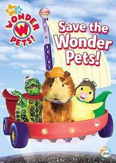 Nick Jr's Wonder pets tv show Old kids shows, Wonder