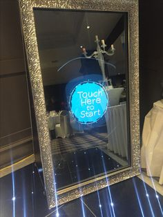 Magic Mirror. Photo booth. vintage mirror.