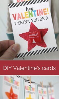 You're a Star Starburst Valentine and 28 Printable Valentines for the Kids - fun printables for homemade valentines on Frugal Coupon Living.