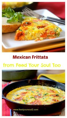 from feed your soul too mexican frittata mexican frittata from feed ...