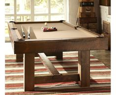 Pottery Barn Pool Table - Home and Garden Design Ideas