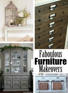 "Easiest Furniture ""Glazing"" & Antiquing Ever! - AKA Design"