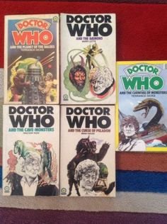 #Doctor who #paperbacks,  View more on the LINK: http://www.zeppy.io/product/gb/2/331678232051/