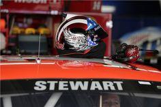 Tony Stewart's helmet after 2013 Coca-Cola 600