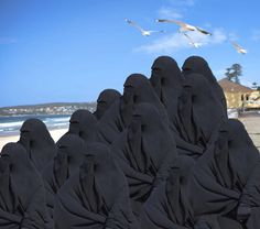 Burka or burqa Arab Girls Hijab, Girl Hijab, Muslim Girls, Muslim Women, Photos Du, Old Photos, Niqab Fashion, Hijab Niqab, Islamic Girl
