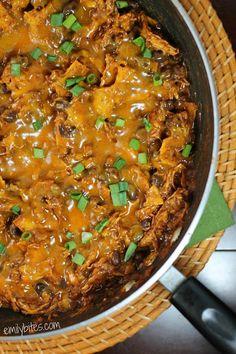 Emily Bites - Weight Watchers Friendly Recipes: Chicken Enchilada Skillet