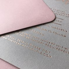Rose gold, grey and dusty pink / by @paigetuzee_designs