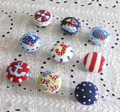 Hand Painted Nautical Dresser Knobs   1   by impressionsbysusan, $7.00
