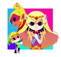 Wind Waker Poster Work starts up again tomorrow. I wanted to do one last illustration before my vacation ends ( ≧Д≦)