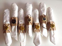 DIY vintage napkin rings / servilleteros