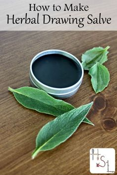 Get rid of splinters, slivers, stingers, and more from the skin by learning how to make herbal drawing salve with this simple and natural DIY project.