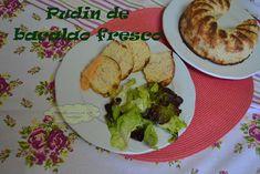 ¿Que se cuece en mi cocina?: PUDIN DE BACALAO FRESCO