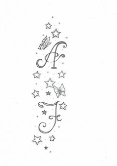 stelle e lettere, Kim tatuaggio fiori . - Tatuaggi femminili 2020 -Kim: stelle e lettere, Kim tatuaggio fiori . Bff Tattoos, Star Tattoos, Mini Tattoos, Body Art Tattoos, Tatoos, Finger Tattoos, Shooting Star Drawing, Tattoos Meaning Family, Monogram Tattoo