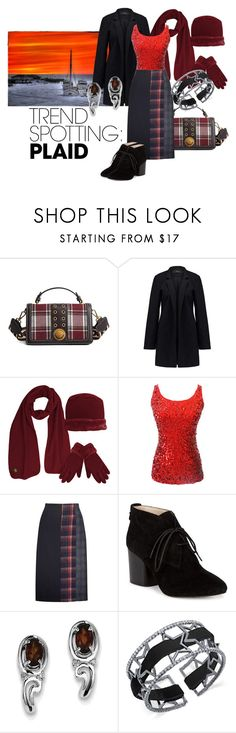 Day to evening by maria-kuroshchepova on Polyvore featuring Vero Moda, YAL New York, French Connection, BillyTheTree, INC International Concepts, contestentry and NYFWPlaid