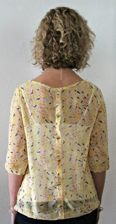 Papermoon Bart Scoop Neck Blouse