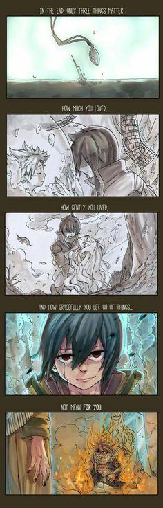 I think Zeref is ok. I mean he saved Natsu.....