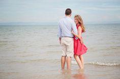 Beach pre wedding shoot scotland