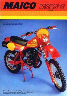 1981 Maico Mega-2 Enduro Brochure.