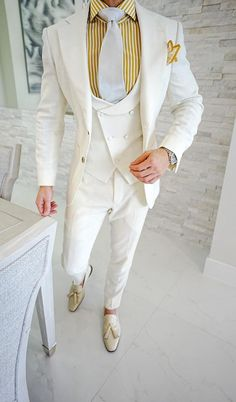 Simply add 5 items to your cart. Wedding Dresses Men Indian, Wedding Dress Men, Men Wedding Suits, Slim Fit Tuxedo, Slim Fit Suits, Mens Fashion Suits, Mens Suits, Costumes Slim, Style Costume Homme