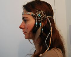 Headband Dreamcatcher amérindien | Brasilda Bijoux