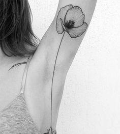 """Résultat de recherche d'images pour """"tatouage coquelicot noir"""""""