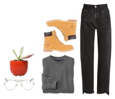 """Untitled #733"" by jaykitten123 ❤ liked on Polyvore featuring Vetements, Timberland and Ray-Ban"