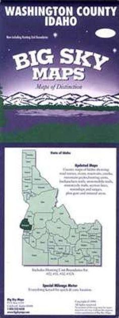 Washington County, Idaho by Big Sky Maps